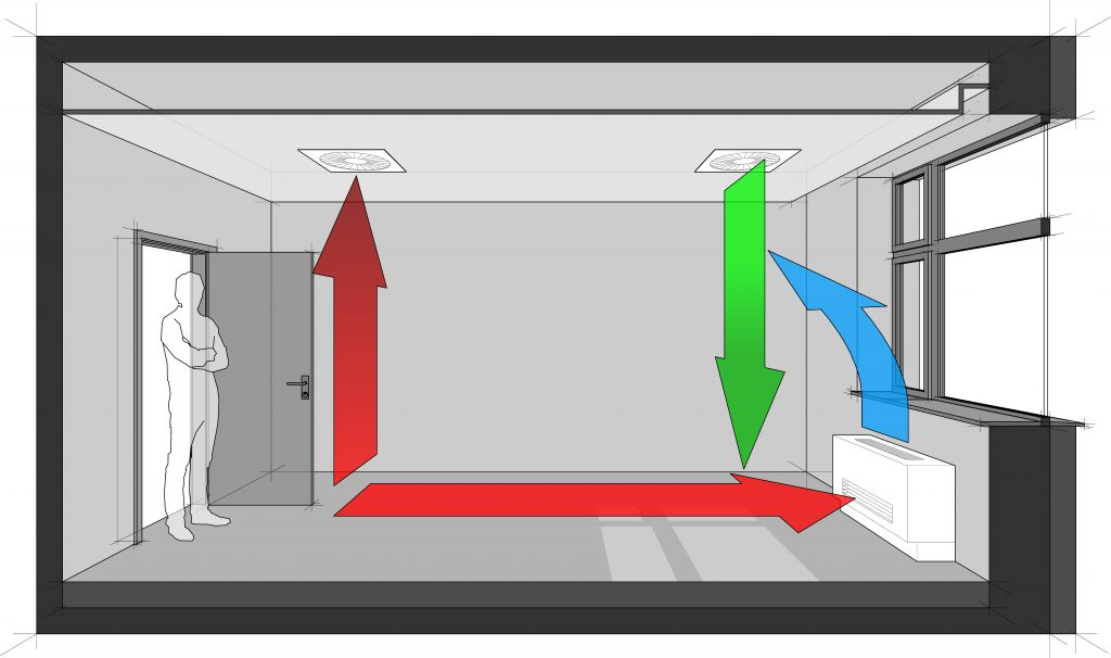 Basics About Ventilation | Seal Insulate & Ventilate on lighting plan, composting toilet plan, natural gas plan, curtain wall plan,