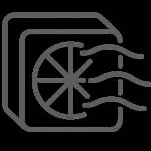 spot ventilation icon