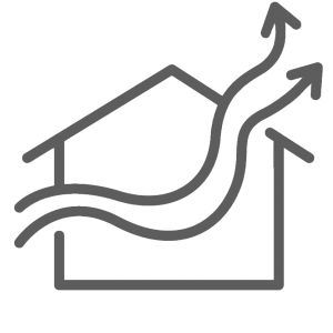 whole house ventilation icon