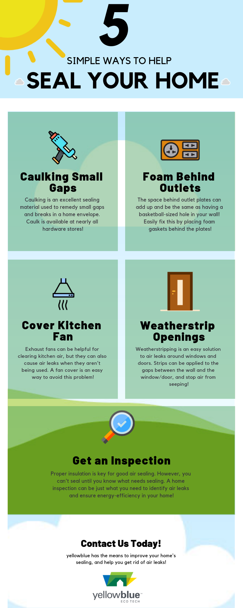 5 Simple Ways To Seal Your Home